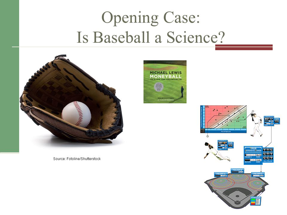 Opening Case: Is Baseball a Science