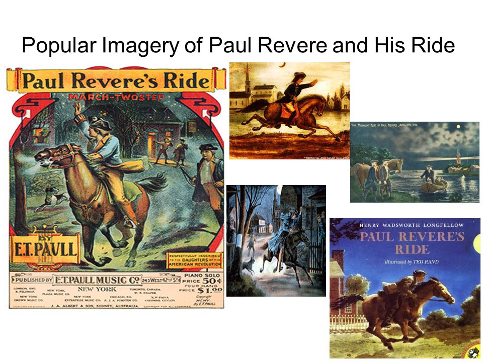 Popular Imagery of Paul Revere and His Ride