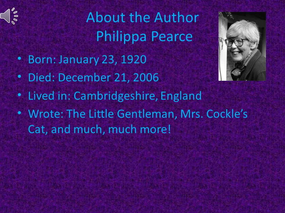 About the Author Philippa Pearce