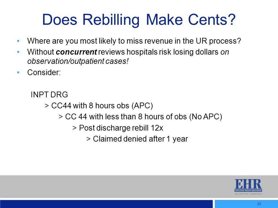 Does Rebilling Make Cents