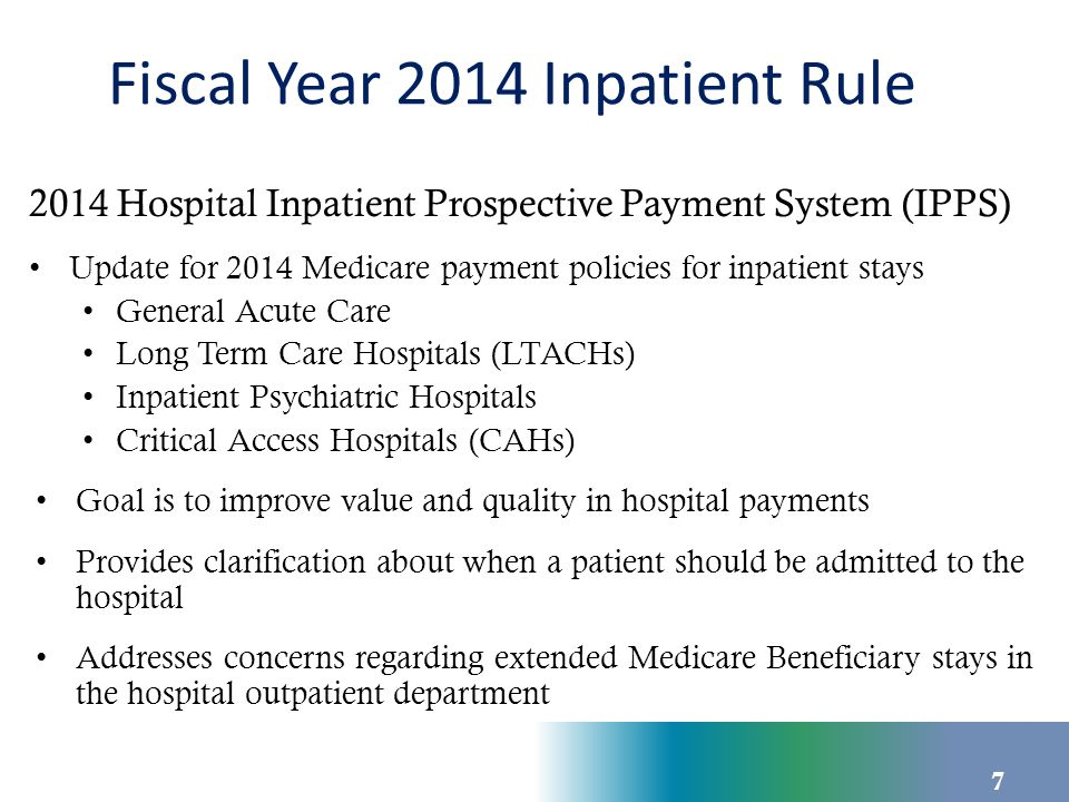 Two Midnight Rule Medicare Part A payment will be presumed appropriate if: