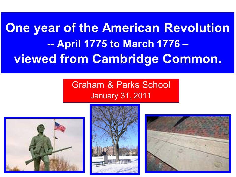 Graham & Parks School January 31, 2011
