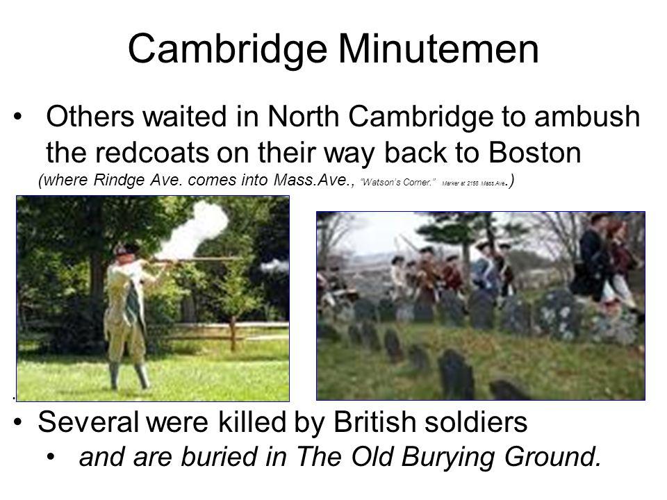 Cambridge Minutemen