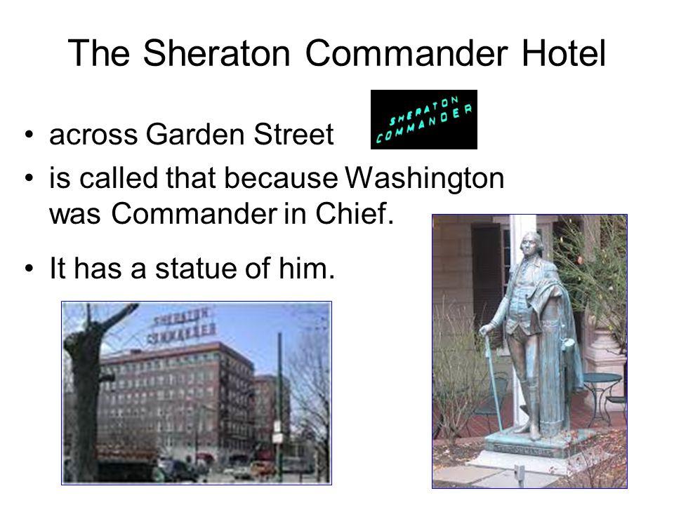 The Sheraton Commander Hotel