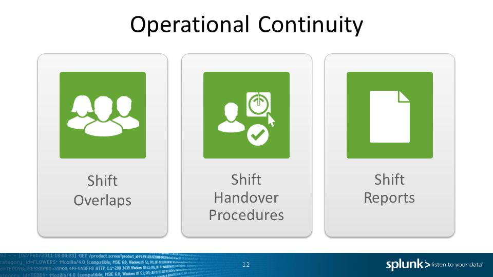 Operational Continuity