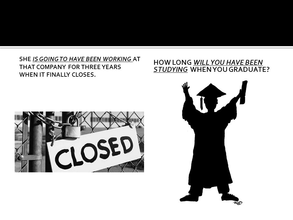 How long will you have been studying when you graduate