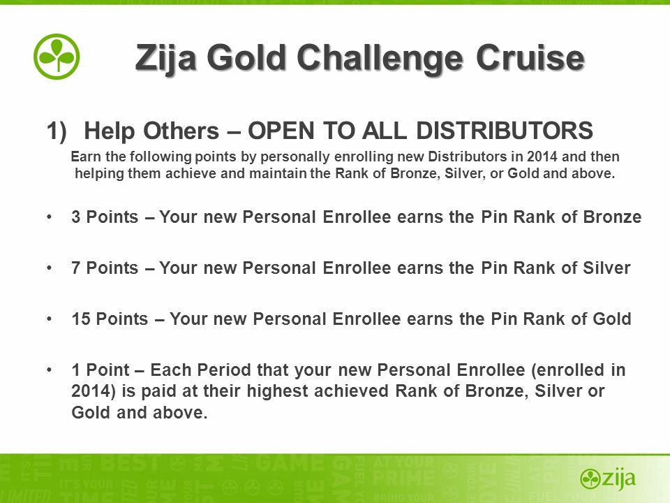 Zija Gold Challenge Cruise
