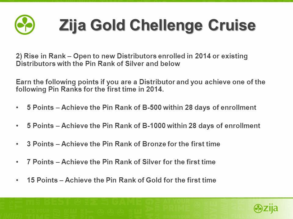 Zija Gold Chellenge Cruise