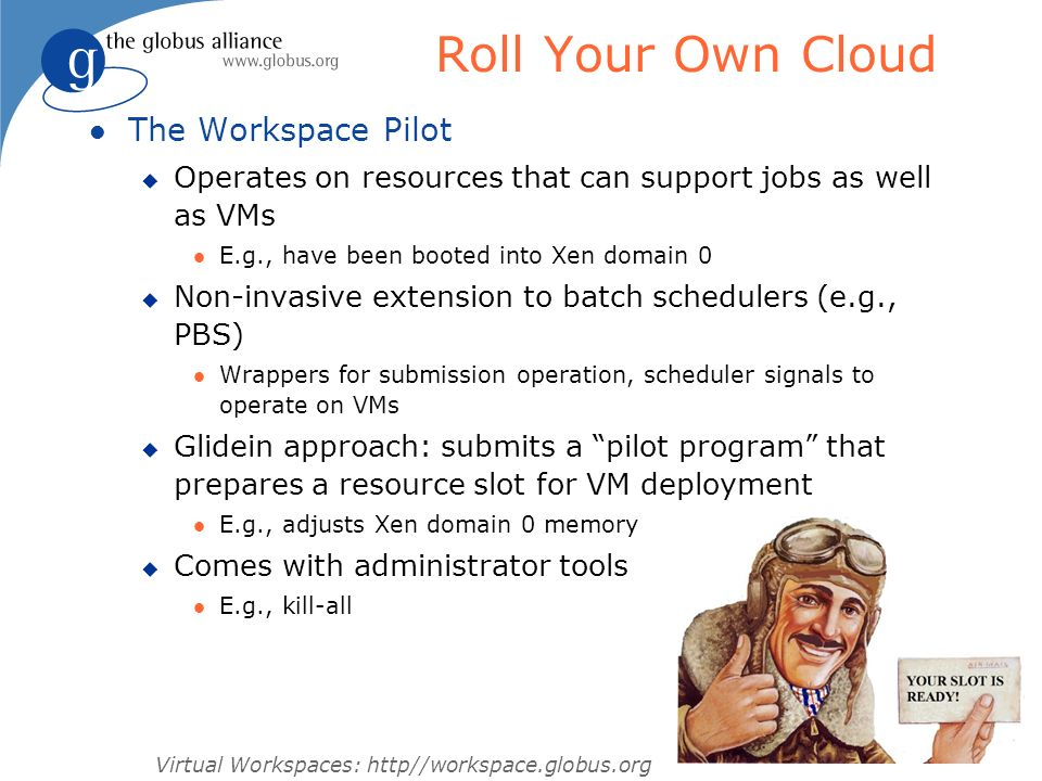Roll Your Own Cloud The Workspace Pilot