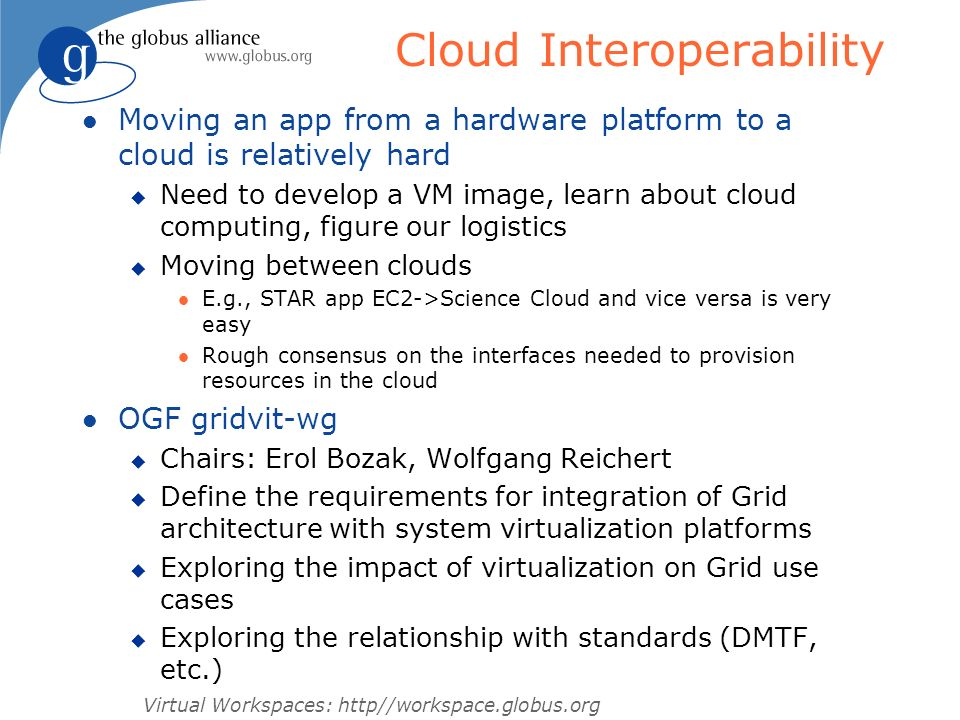 Cloud Interoperability
