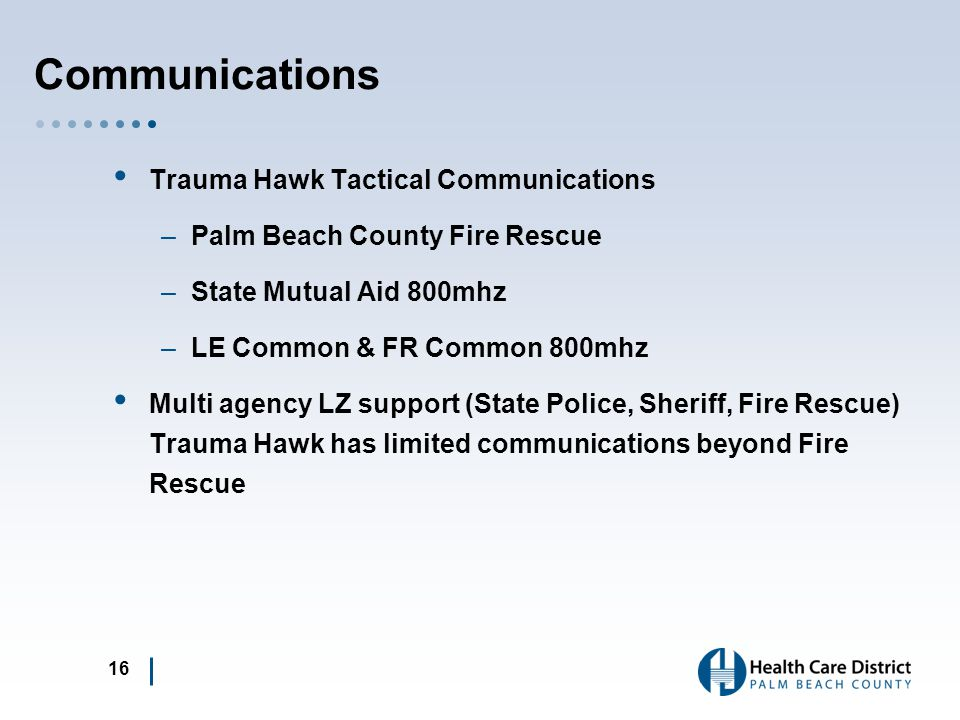 Communications Trauma Hawk Tactical Communications
