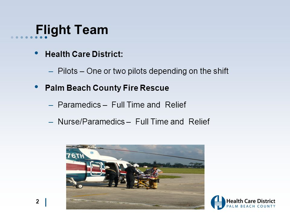 Flight Team Health Care District: