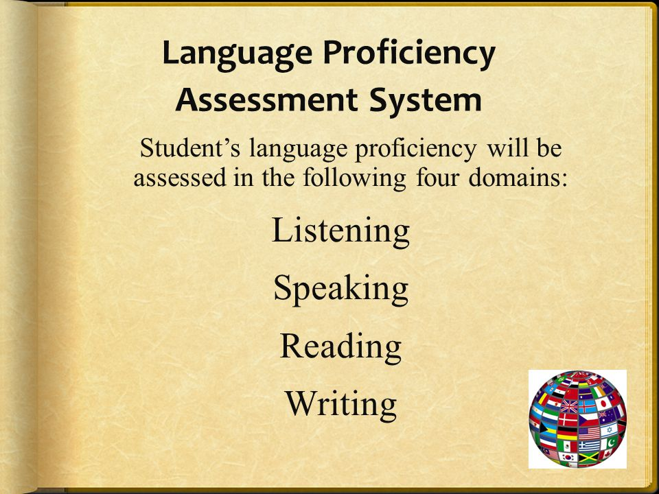 Language Proficiency Assessment System