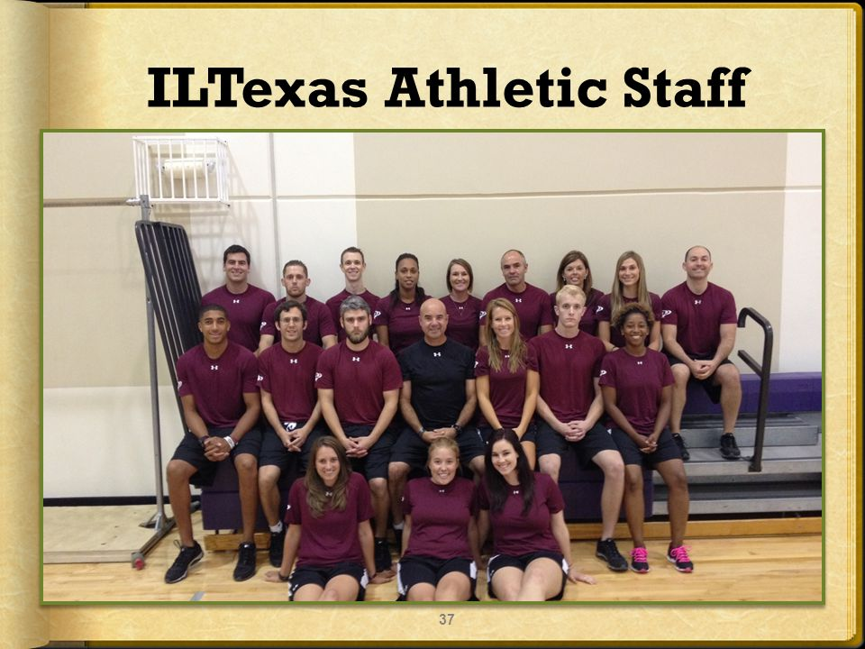 ILTexas Athletic Staff