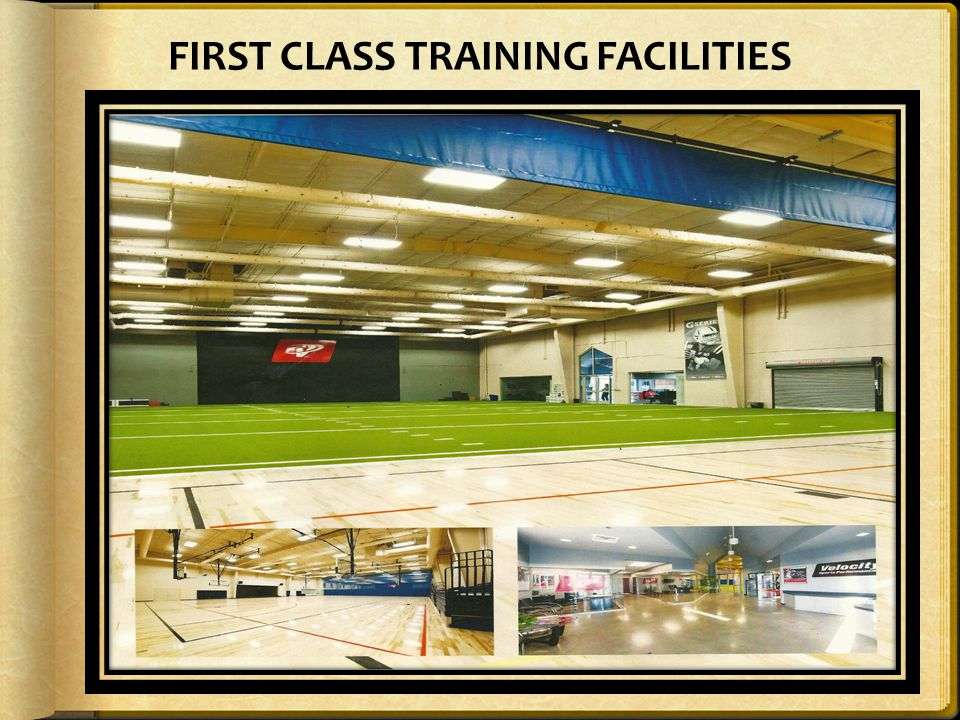 FIRST CLASS TRAINING FACILITIES