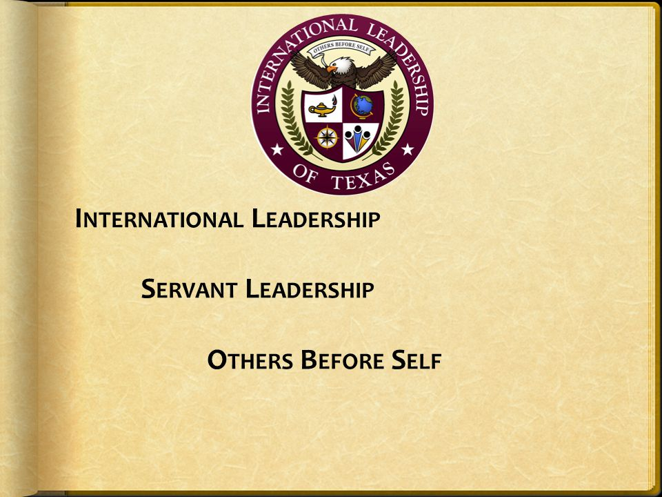 International Leadership Servant Leadership Others Before Self
