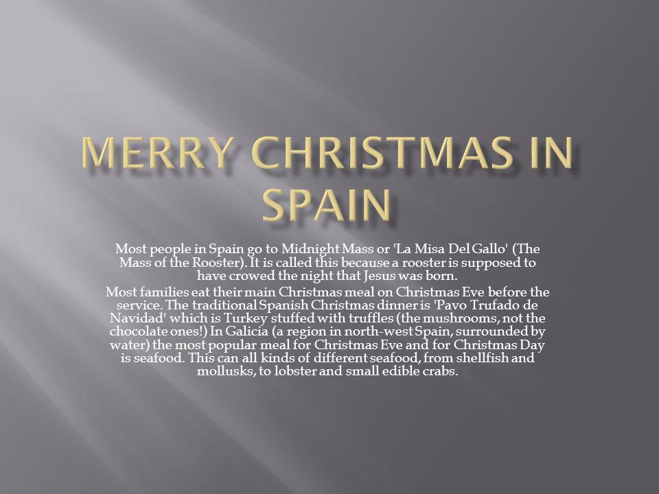 merry christmas in spain