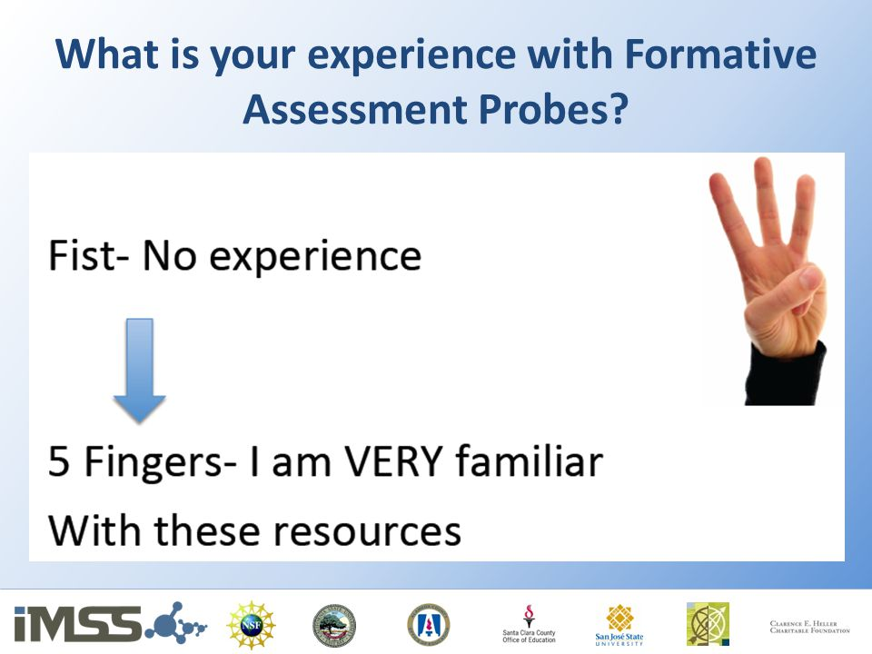 What is your experience with Formative Assessment Probes