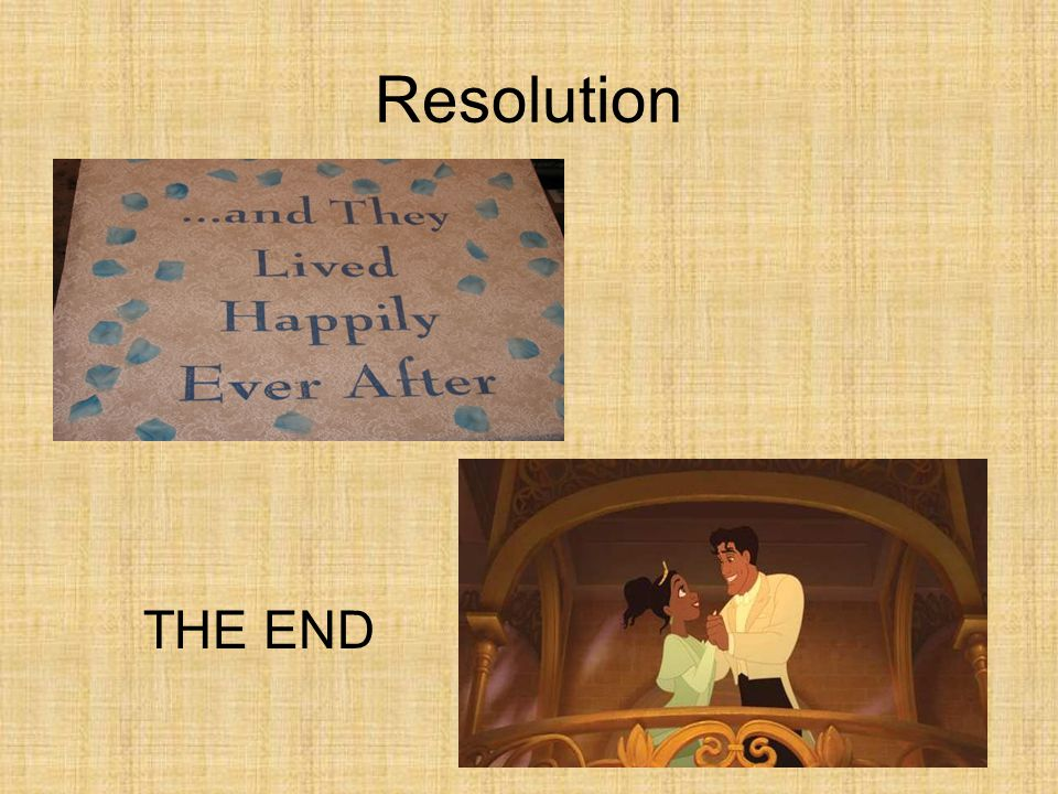 Resolution THE END