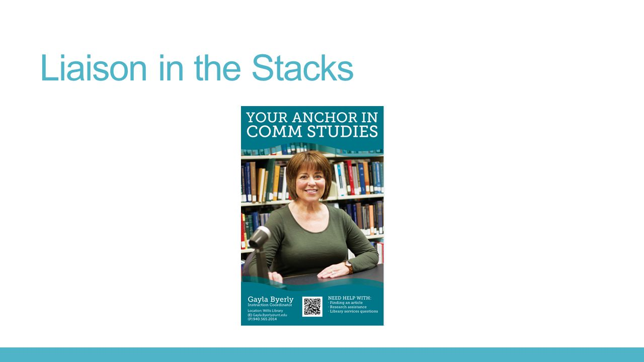 Liaison in the Stacks