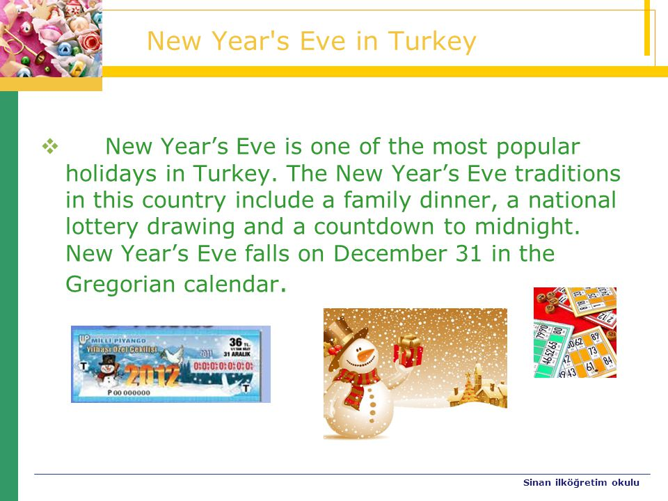 New Year s Eve in Turkey