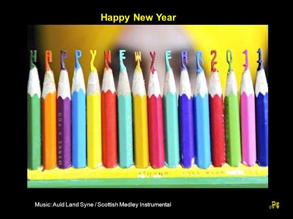 Happy New Year Music: Auld Land Syne / Scottish Medley Instrumental