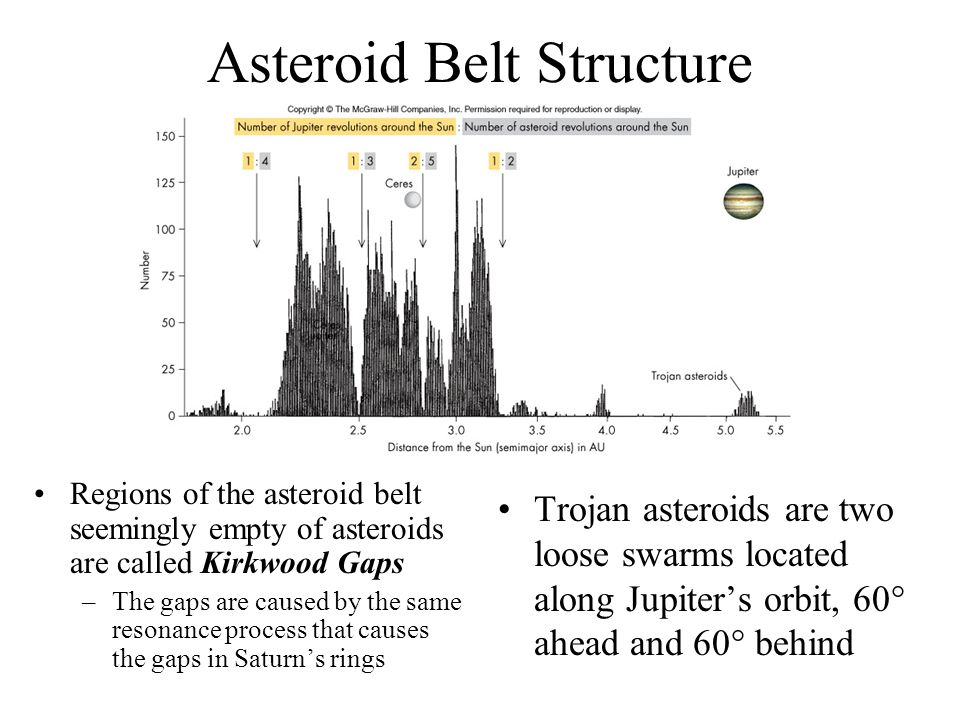 Asteroid Belt Structure