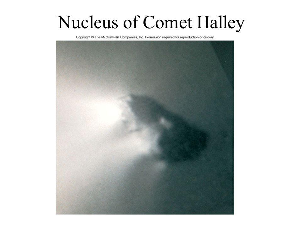 Nucleus of Comet Halley