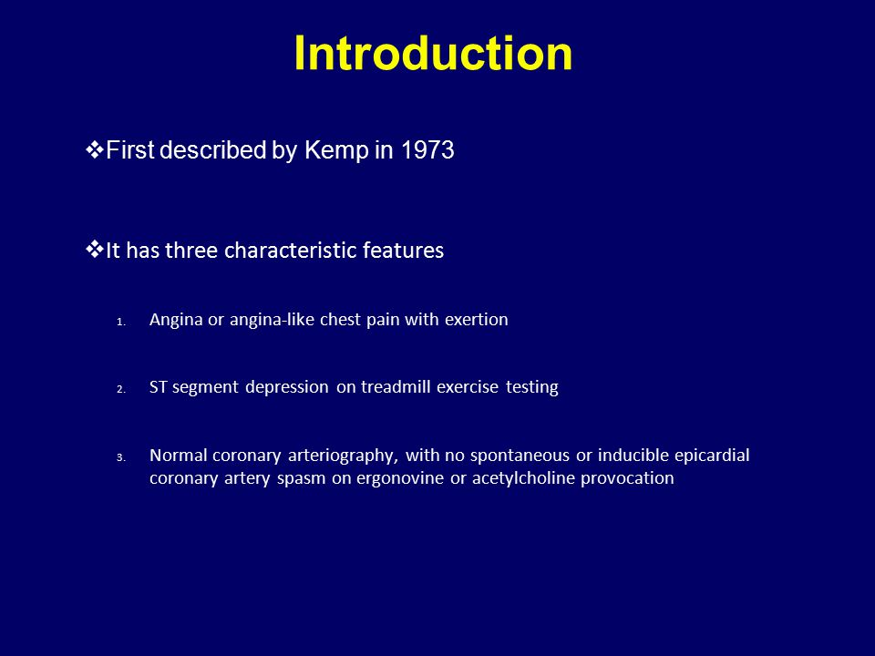 Introduction First described by Kemp in 1973