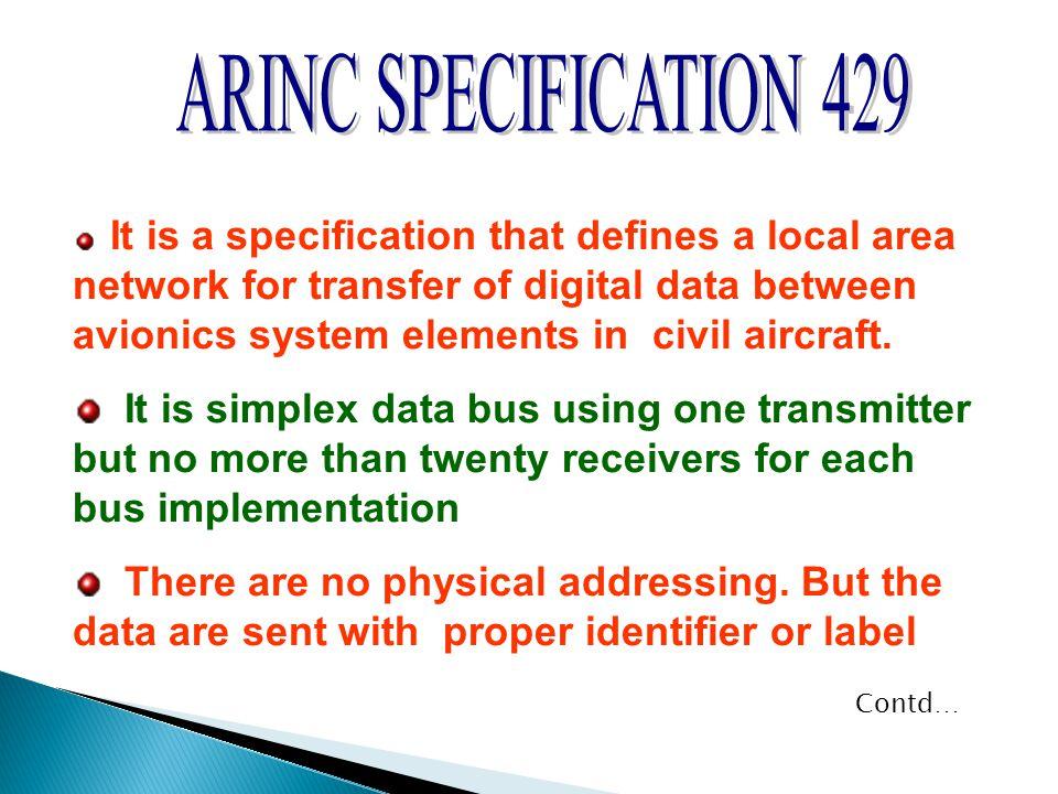 ARINC SPECIFICATION 429