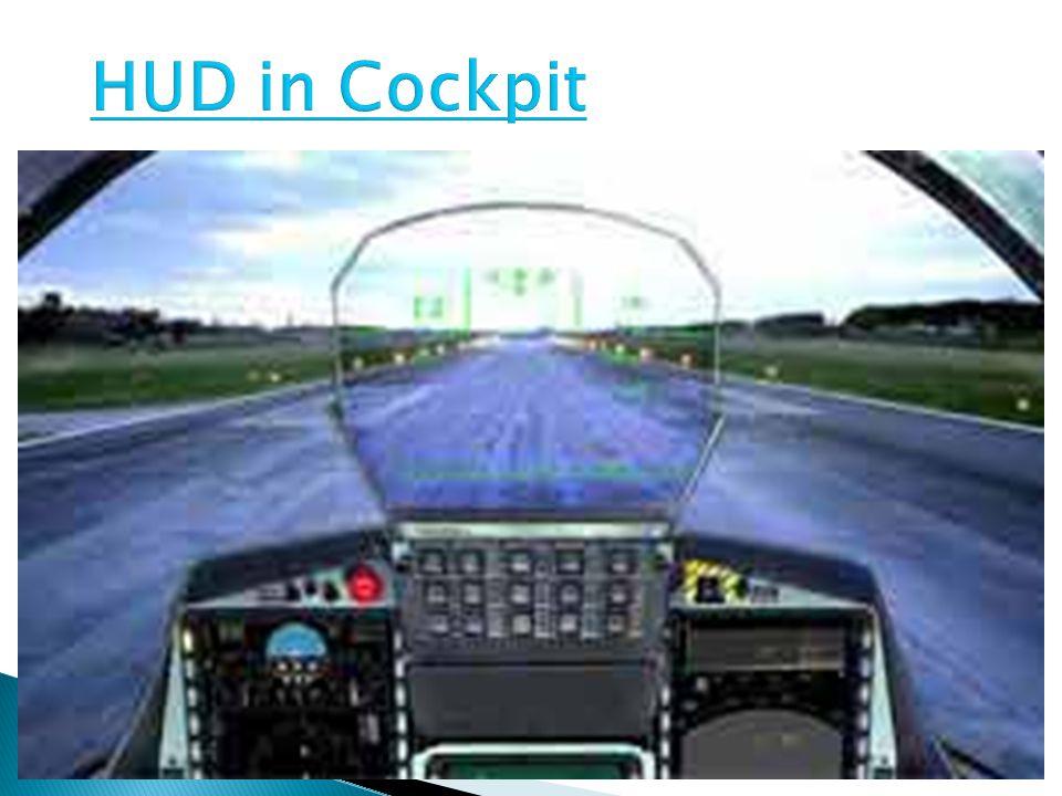 HUD in Cockpit
