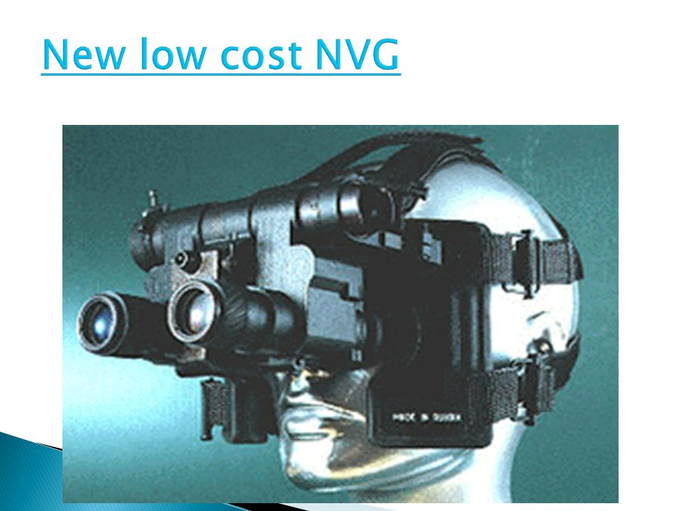 New low cost NVG