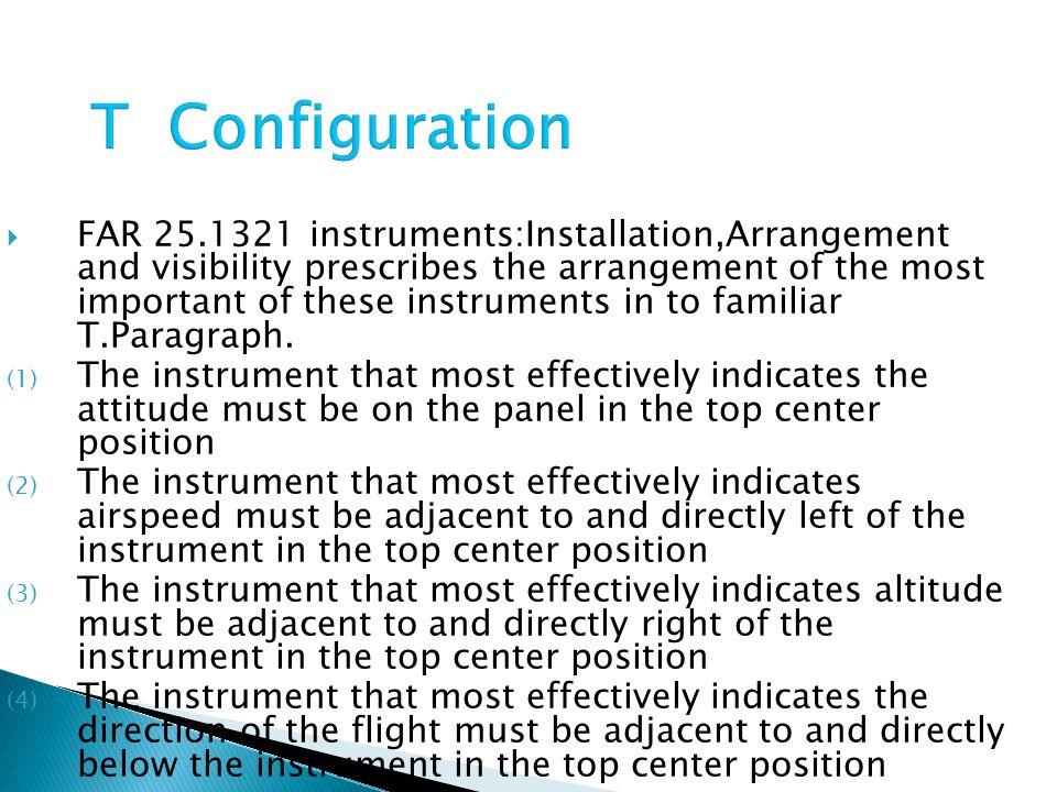 T Configuration