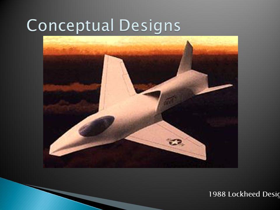 Conceptual Designs 1988 Lockheed Design