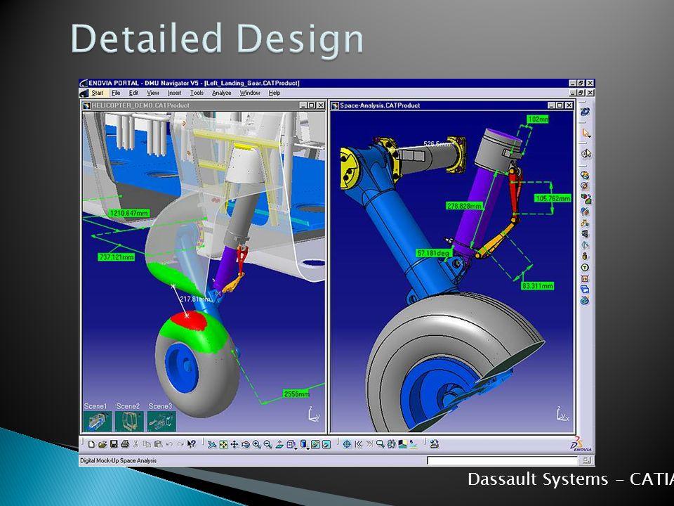 Detailed Design Dassault Systems - CATIA