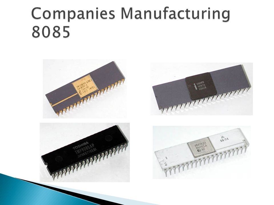 Companies Manufacturing 8085
