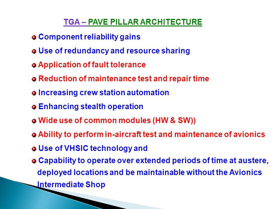 TGA – PAVE PILLAR ARCHITECTURE