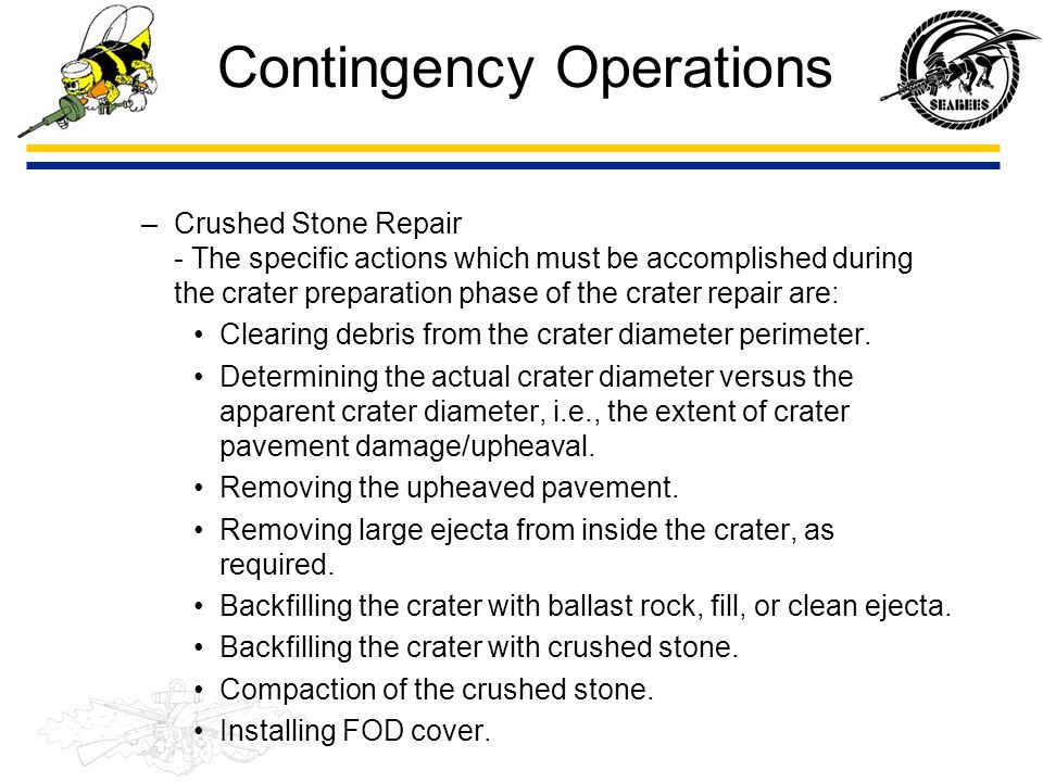 Contingency Operations