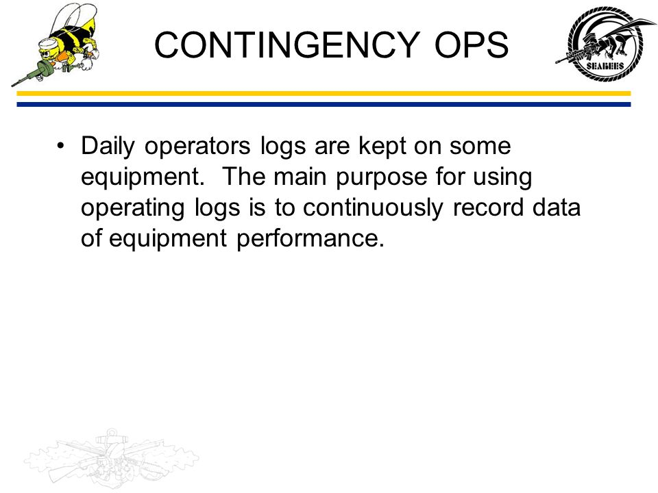 CONTINGENCY OPS