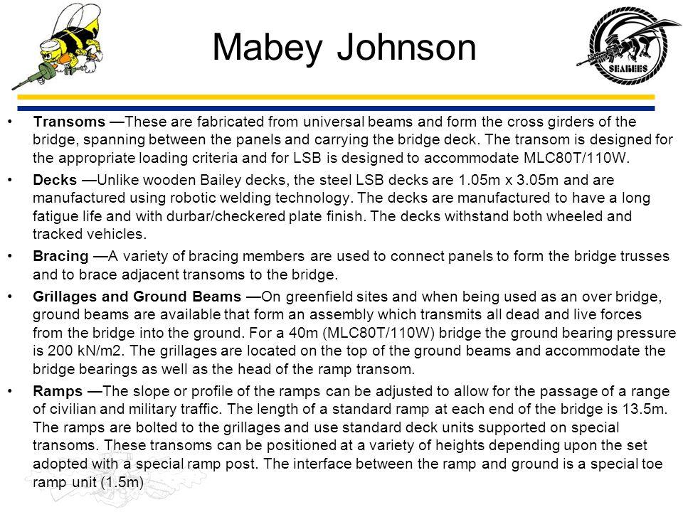 Mabey Johnson