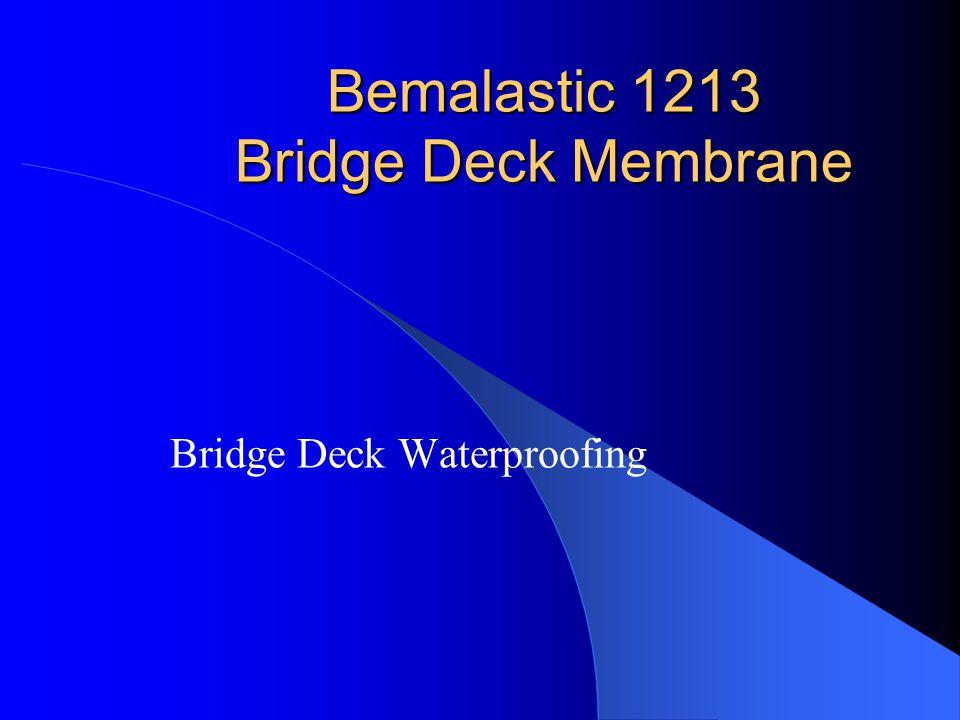 Bemalastic 1213 Bridge Deck Membrane