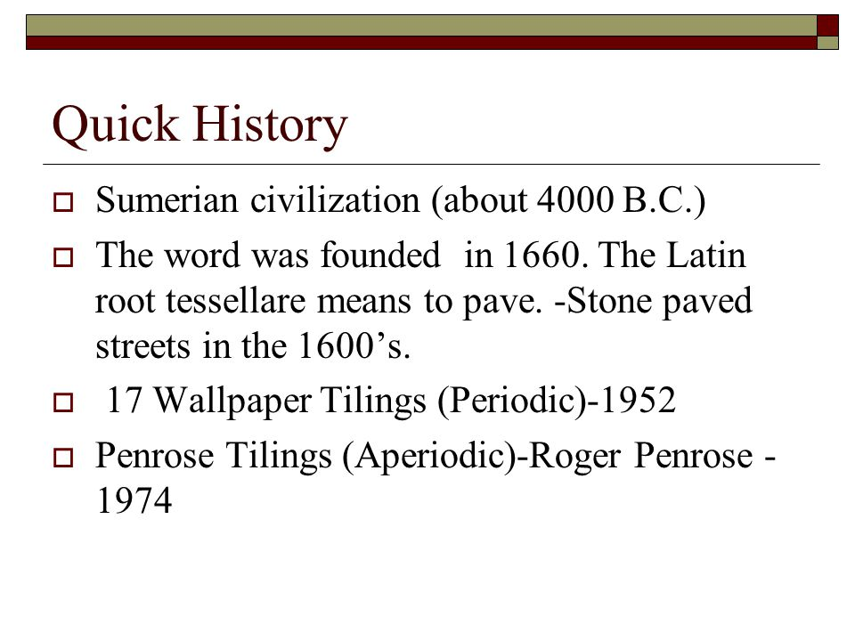 Quick History Sumerian civilization (about 4000 B.C.)