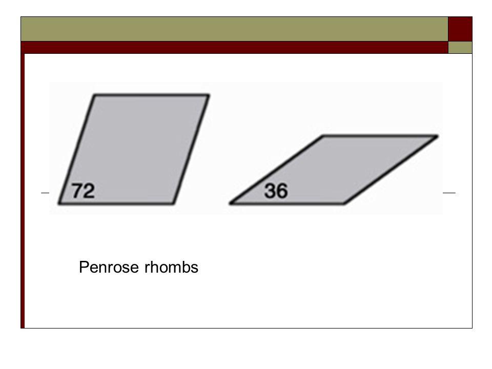 Penrose rhombs