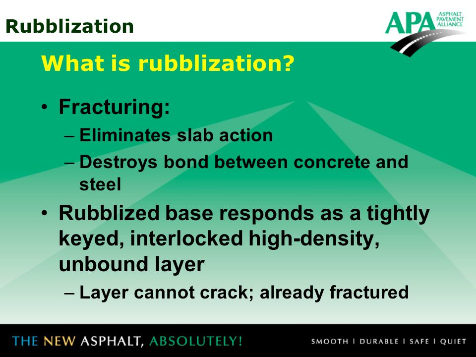 What is rubblization Fracturing: