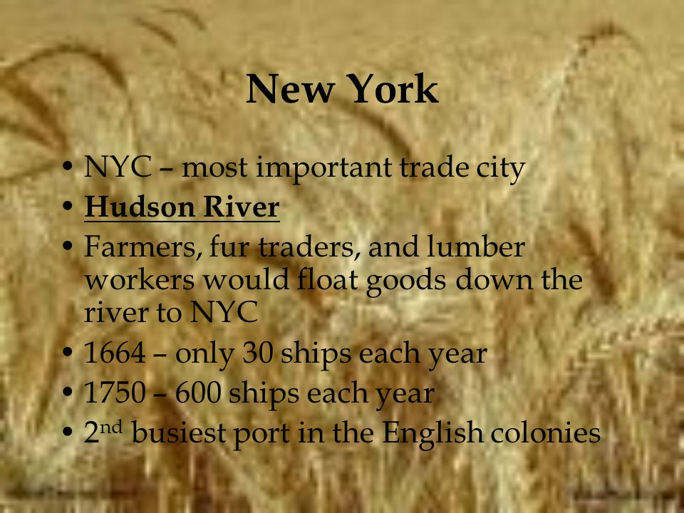 New York NYC – most important trade city Hudson River