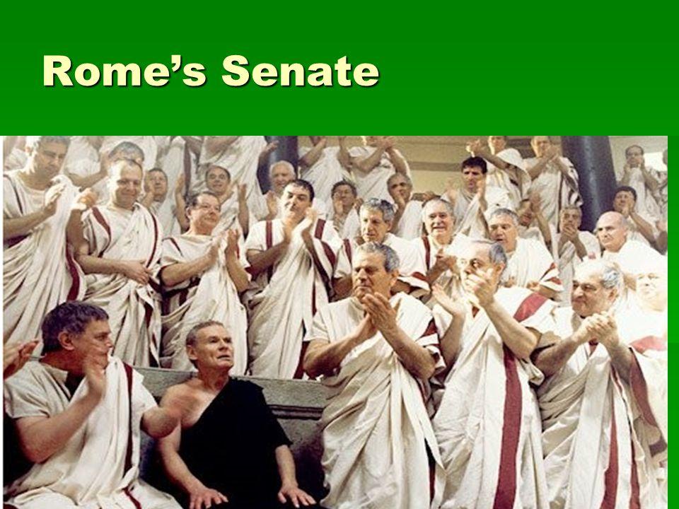 Rome's Senate
