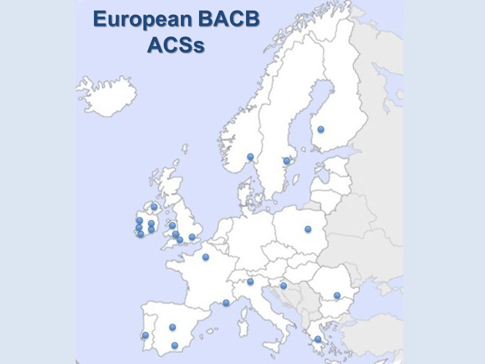 European BACB ACSs