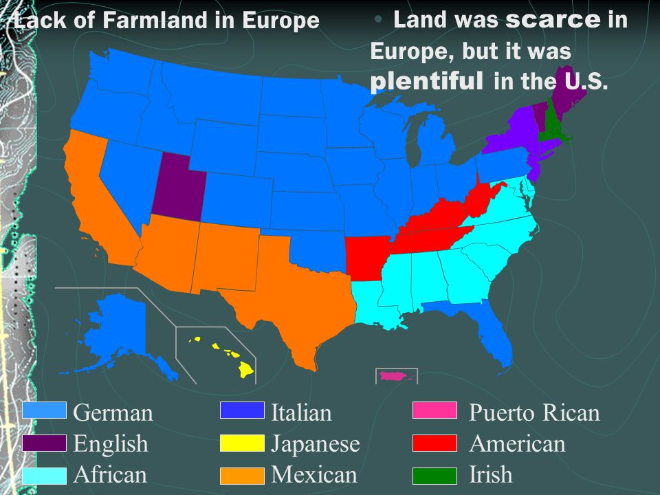 Lack of Farmland in Europe