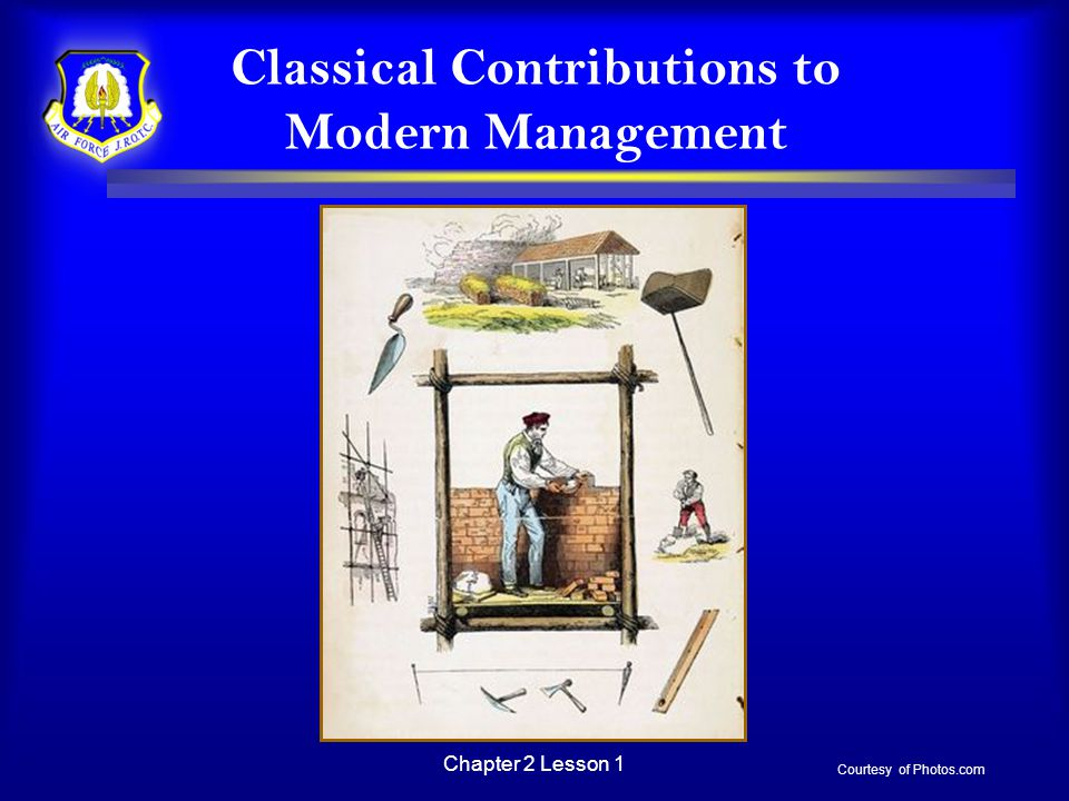 Classical Contributions to Modern Management