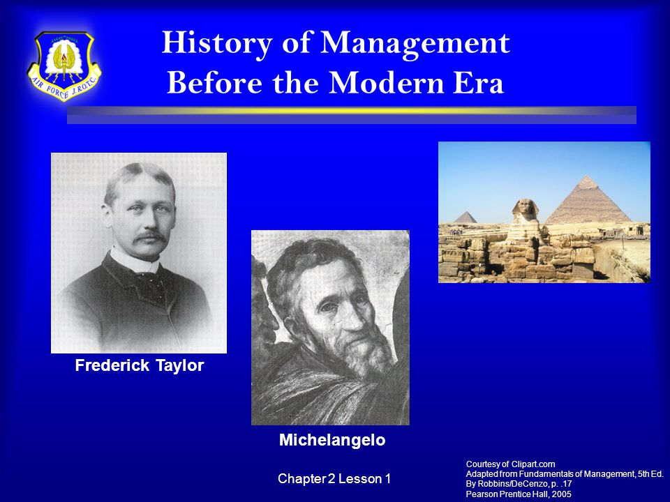 History of Management Before the Modern Era